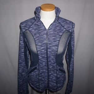 Zella Full Zip Top with Mesh panels - Small